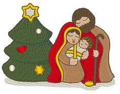Sacra Famiglia Simil Thun di IricamidiValli su Etsy