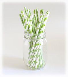 St. Patrick's Day Straws, Green Drinking Straws, Saint Pattys Day Leprechaun Party Straws, 25 Pack, March Irish Straws Food with Fashion http://www.amazon.com/dp/B00MCZAP06/ref=cm_sw_r_pi_dp_VLj8ub0551C8D