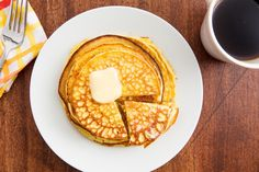 Keto Pancakes - added a little extra almond flour, also 1/2 tsp vanilla gives a nice flavor if you don't have lemon zest.