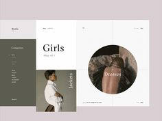 Hello friends,   This is a new series of my animation explorations while working on the redesign of a fashion e-commerce store called Birdie. This time the shot showcases category page transitions....
