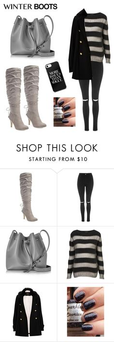 """""""❄️Winter Boots❄️"""" by stargirl234 ❤ liked on Polyvore featuring Thalia Sodi, Topshop, Lancaster, River Island, Winter, winterfashion, winterboots and winterstyle"""