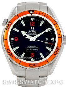 Omega Seamaster Planet Ocean Xl Mens Watch 2208.50.00 $2,890 #Omega #Seamaster #watches