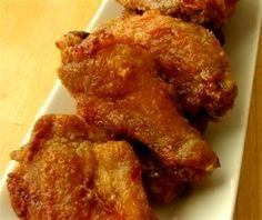 Clifton Springs Chicken Wings - Oven-Fried with Sticky Ginger Garlic Glaze