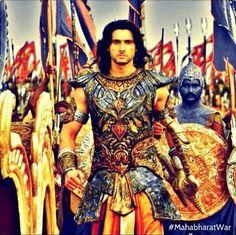 Aham Sharma as Karn in Mahabhrat on Star T.V in India