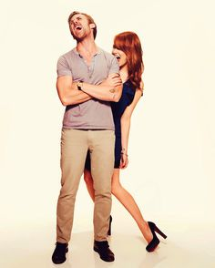Emma Stone & Ryan Gosling - I can't even handle the amount of chemistry going on in this picture.