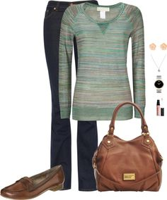 """""""Casual Day #4"""" by jlgoodman ❤ liked on Polyvore"""
