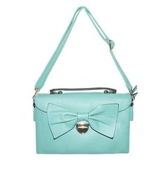 Blair Teal Bow Handbag