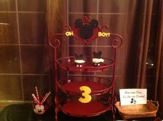 Stand I used for cupcakes and added cut outs to from Cricut.