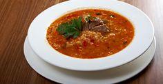Суп харчо Georgian Cuisine, Soup Recipes, Chili, Ethnic Recipes, Food, Soups, Georgian Recipes, Chile, Essen