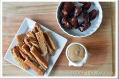 Date-alicious Dips and snacks!