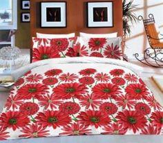 Grasshopper  Obliečka Bavlna  Denisa červená 140x200