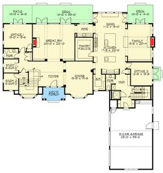 Tradition at its Finest - 23647JD | Architectural Designs - House Plans