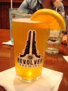 Revolver Blood and Honey Bock - golden ale with citrus flavors as well as honey and spice. #RevolverBrewing Granbury TX