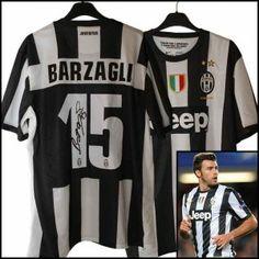 #perlamaglia campaign Juventus F.C. 2012-13 original nike jersey Andrea Barzagli #15 with own signed autograph