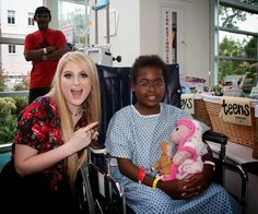 Meghan Trainor Gives a Surprise Visit to Children's Healthcare of Atlanta Seacrest Studios | The Bluebird Patch