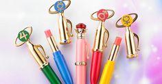 Sailor Moon Makeup Moisture Rouge Senshi Transformation Pens