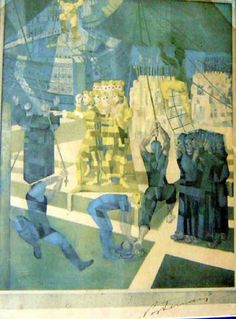 Cândido Portinari (1903-1962) - O Descobrimento