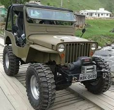 Brought to you by Smart-e Jeep Willys, Jeep 4x4, Jeep Truck, Chevy Trucks, Auto Jeep, Jeep Cars, Badass Jeep, Offroader, Old Jeep