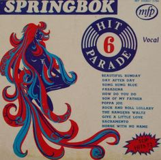 Springbok: Springbok Hit Parade Volume 01 To 30 Lp Cover, Vinyl Cover, Vinyl Records, Album Covers, Rock And Roll, Texts, Music Music, Songs, Afrikaans