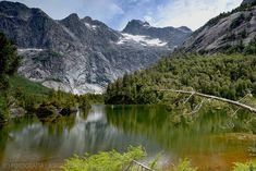 Montañas del Lago Quetrus - Parque Tagua Tagua (Patagonia - Chile)