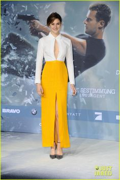 Shailene Woodley & Theo James Bring 'Insurgent' To Berlin | shailene woodley theo james insurgent germany premiere 04 - Photo