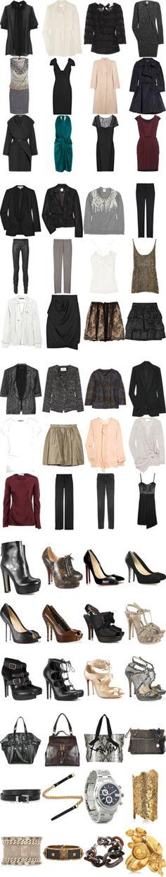 """Capsule Wardrobe 2"" by owlchic ❤ liked on Polyvore"