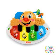Perrito piano de aprendizaje Laugh & Learn, $18.990 (precio normal). Marca Fisher Price: http://bbt.to/1uJO2K1