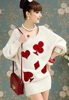 Lovely Poker Jumper Dress  https://apps.facebook.com/cartel-poker/?pinterest