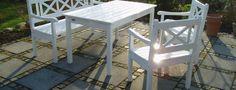 terrasse med rådhusbelægning