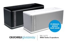 Check out our review, and then enter to win 1 of 10 RIVA TurboX premium Bluetooth speakers. Sweepstakes ends June 8, 2015.