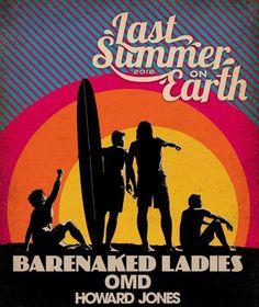 Barenaked Ladies OMD Howard Jones Best concert T-shirt I've ever purchased!
