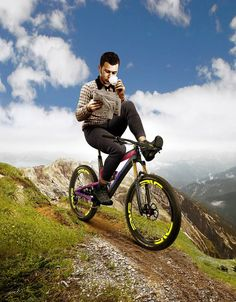 The Wall Street Journal covers mountain bikes and electric mountain bikes!