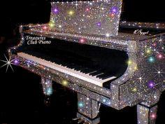glitter gifs music piano