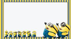 Minion Theme, Minion Party, My Minion, Minion School, Minion Classroom, Minion Background, Kids Background, Minion Wallpaper Iphone, Minion Birthday Invitations