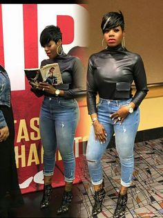 Great Short Hairstyles for Black Women – My hair and beauty Pixie Styles, Short Styles, Short Sassy Hair, Short Hair Cuts, Short Pixie, American Idol, American History, Fantasia Hairstyles, Quick Weave Styles