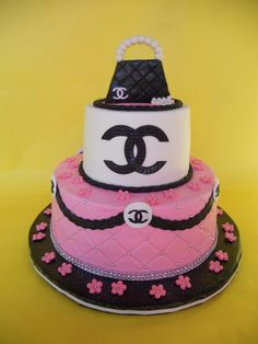 Chanel Baby Shower Cake | Amy Stella | Flickr