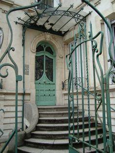 Art Nouveau ~ Ombellifères, 23 rue Cler, Paris VIIè