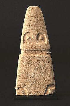 Avian Figure - Valdivia Culture - Ecuador 3500 - 2000 BC Carbonate Mudstone - William Siegal Gallery