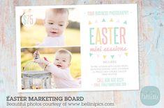 IE008 Easter Marketing Board by Paper Lark  on @creativemarket