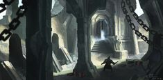 Paths, Steampunk, Environment, Stone, Random, World, Artwork, Painting, Rock