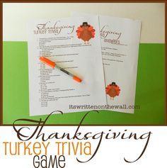 Printable This Amp That Thanksgiving Trivia Thanksgiving Games Thanksgiving