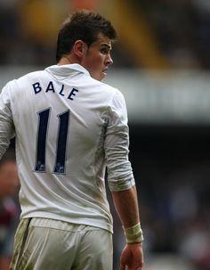 Gareth Bale of Tottenham.