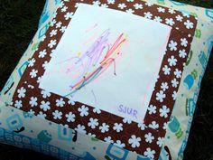 Kreativ ♥ Impulsiv: Puter og diverse med barnetegninger