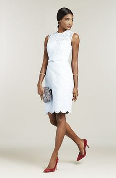 Maggy London Sheath Dress & Accessories  available at #Nordstrom
