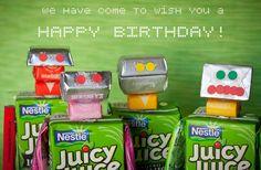 Robot Birthday Treats