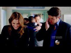 "Castle 8x17 End Scene Beckett Castle Talk - Jenny Gives Birth ""Death Wish"" Season 8 Episode 17 - YouTube"