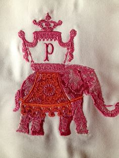 No. Four Eleven. Pretty Pink Elephant and love the monogram.