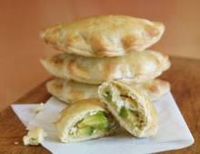 Avocado Cream Cheese Empanadas