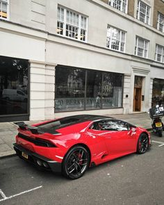 The Lamborghini Huracan was debuted at the 2014 Geneva Motor Show and went into production in the same year. The car Lamborghini's replacement to the Gallardo. The Huracan is available as a coupe and a spyder. Maserati, Bugatti, Lamborghini Huracan, Koenigsegg, Ferrari, Super Sport Cars, Cool Sports Cars, Cool Cars, Nissan
