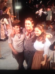 David, Jack, and Sarah from Newsies. Inspiration for Rosa\'s housework outfit.